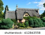 an english thatched cottage...