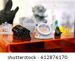objects photopolymer printed on ... | Shutterstock . vector #612876170