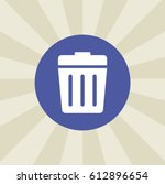 recycle bins icon. sign design. ... | Shutterstock . vector #612896654