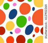 easter seamless pattern... | Shutterstock .eps vector #612902264