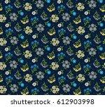 vector seamless pattern. cute... | Shutterstock .eps vector #612903998