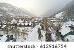 telluride  colorado   city... | Shutterstock . vector #612916754