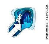 business opportunities concept... | Shutterstock .eps vector #612930236