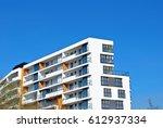 modern  luxury apartment... | Shutterstock . vector #612937334