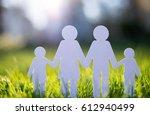happy family concept   Shutterstock . vector #612940499