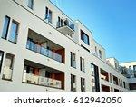 modern  luxury apartment... | Shutterstock . vector #612942050