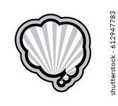 monochrome cloud speech with...   Shutterstock .eps vector #612947783