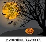 halloween | Shutterstock .eps vector #61295554