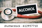 Small photo of Alcohol abuse word / Alcohol abuse word concept