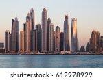 Dubai Skyscrapers. Dubai Marin...