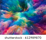 color splash series. creative... | Shutterstock . vector #612989870
