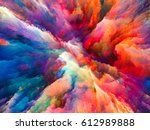 color explosion series.... | Shutterstock . vector #612989888