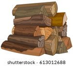 Illustration Of The Logs Of...