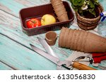 A Lot Of Garden Tools For...