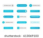 button vector. | Shutterstock .eps vector #613069103