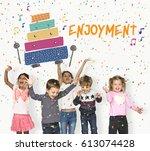 children early education... | Shutterstock . vector #613074428