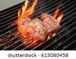 steak | Shutterstock . vector #613080458