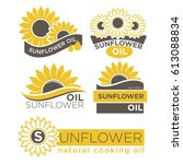 Natural Sunflower Oil Logotype...