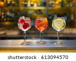 Three Colorful Cocktails Large Wine - Fine Art prints