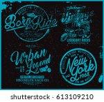 t shirt graphic | Shutterstock .eps vector #613109210