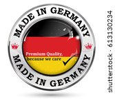 made in germany  premium... | Shutterstock .eps vector #613130234