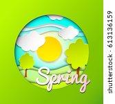 spring. background.   Shutterstock .eps vector #613136159