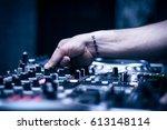 dj | Shutterstock . vector #613148114