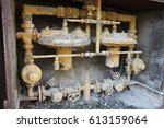Small photo of Gas main. Abandoned factory