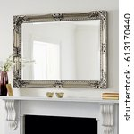 mirror in a new apartment | Shutterstock . vector #613170440