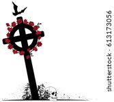 Illustration Of Crucifix ...