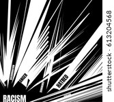 social concept about racism....   Shutterstock .eps vector #613204568