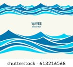 marine seamless pattern with... | Shutterstock .eps vector #613216568