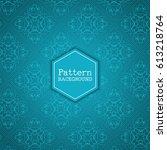 elegant background with... | Shutterstock .eps vector #613218764