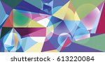 abstract vector background for... | Shutterstock .eps vector #613220084