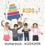 children early education... | Shutterstock . vector #613242458