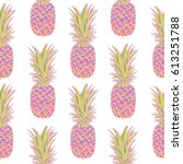 seamless pattern with... | Shutterstock .eps vector #613251788