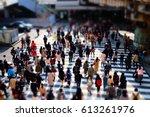 Walking People On The Street