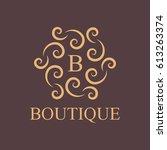 luxury  business  royal ... | Shutterstock .eps vector #613263374