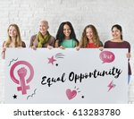 feminism equality confidence... | Shutterstock . vector #613283780