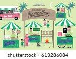 ramadhan bazaar template vector ... | Shutterstock .eps vector #613286084