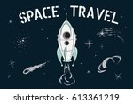scientific vector illustration... | Shutterstock .eps vector #613361219
