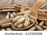 lingzhi mushroom  ganoderma  ... | Shutterstock . vector #613383008
