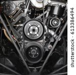 Small photo of 1960's Classic V8 engine