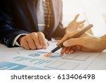 business concept. business... | Shutterstock . vector #613406498