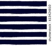 nautical  seamless pattern... | Shutterstock .eps vector #613424810