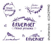 set of template logo design of... | Shutterstock .eps vector #613429940