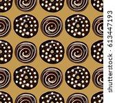 vector illustration  pattern ... | Shutterstock .eps vector #613447193