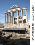 temple of diana | Shutterstock . vector #613461284