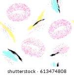vector eps 10. seamless texture ...   Shutterstock .eps vector #613474808