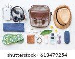 men's casual summer clothes... | Shutterstock . vector #613479254